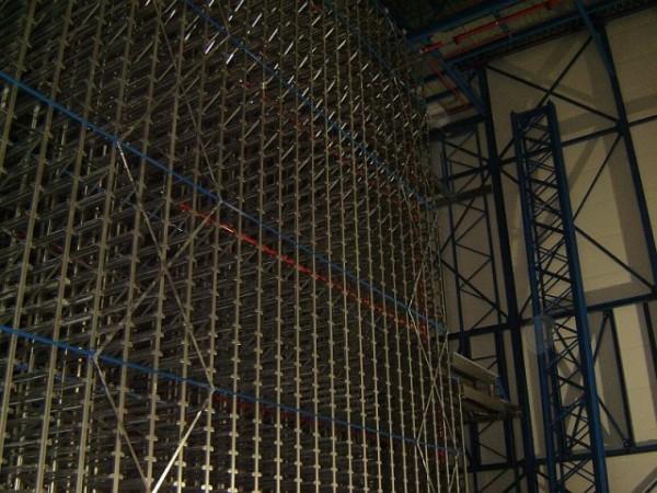 Becton & Dickinson - Belgie - stavba regálu chladící haly (12)