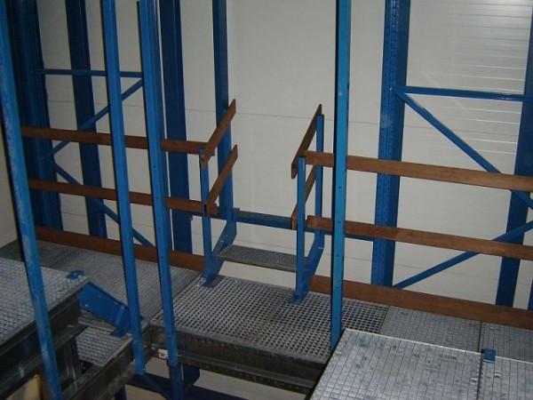 Becton & Dickinson - Belgie - stavba regálu chladící haly (13)