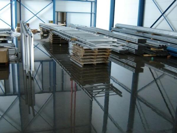 Becton & Dickinson - Belgie - stavba regálu chladící haly (3)