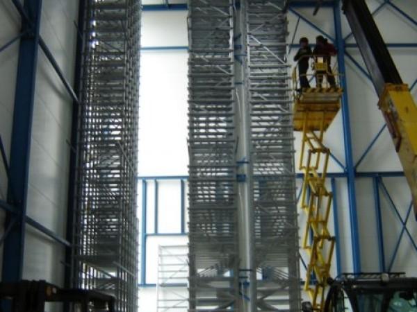 Becton & Dickinson - Belgie - stavba regálu chladící haly (4)