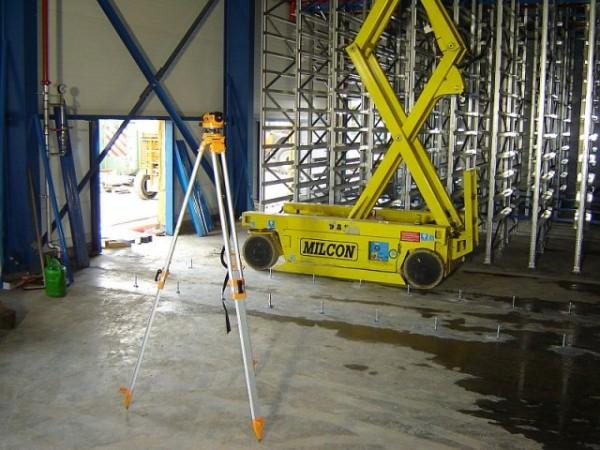 Becton & Dickinson - Belgie - stavba regálu chladící haly (9)