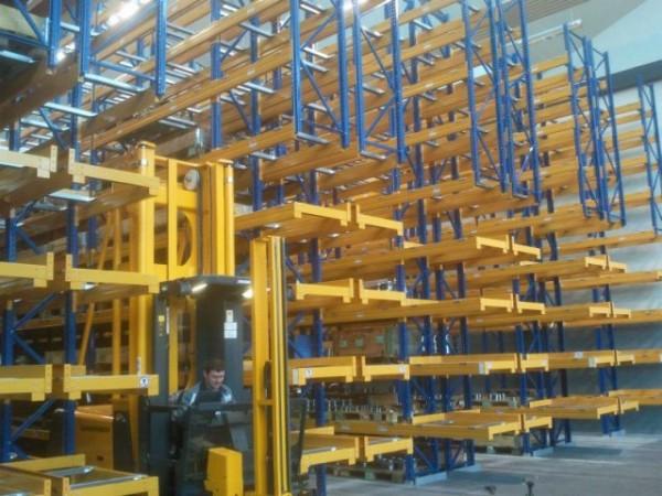 Renk AG - Německo - paletový regál pro zakladač (4)